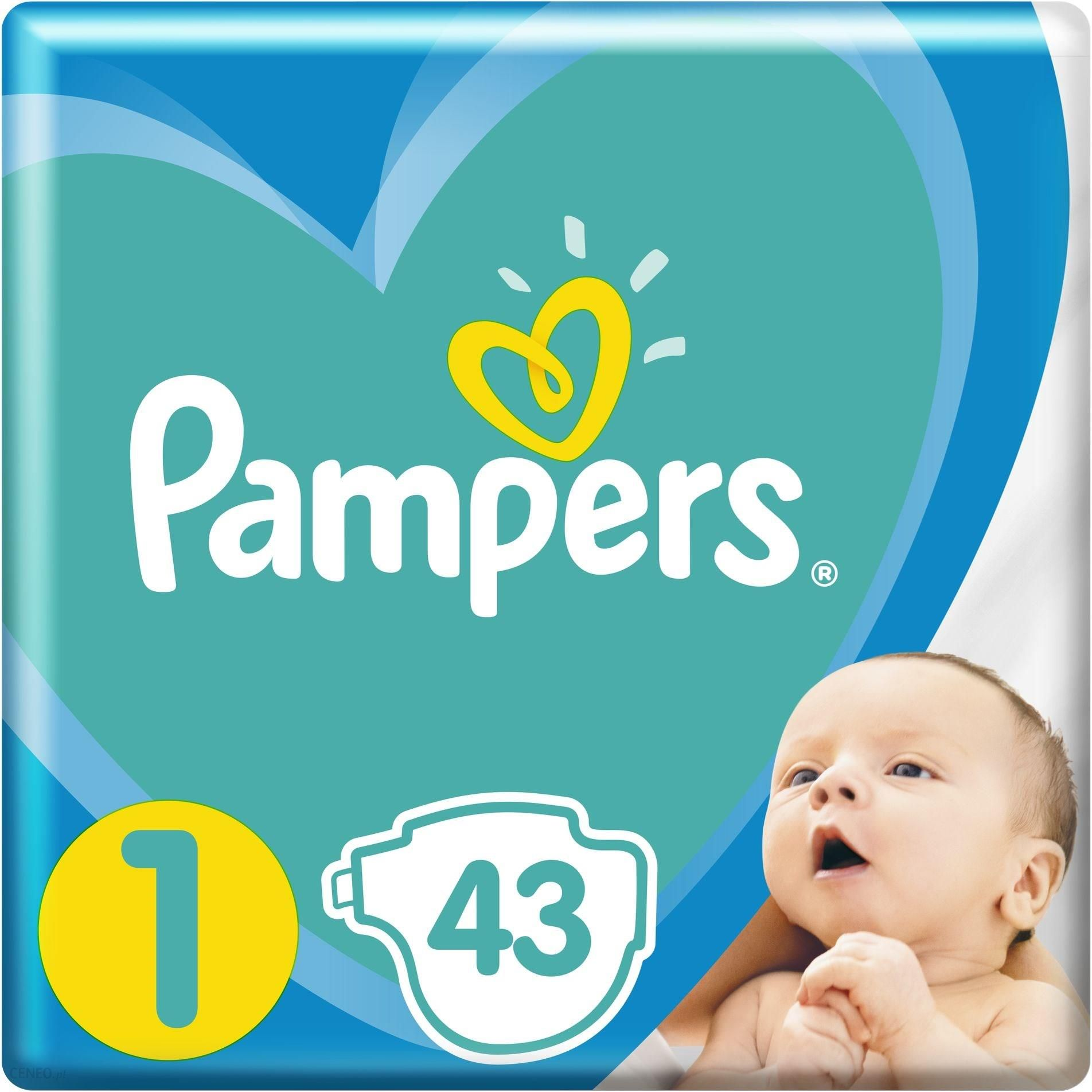 Pampers New Baby-Dry 1 New Born  43szt.