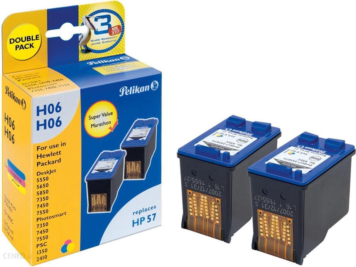 Pelikan Ink Cartridge HP C6657AE 3-colours