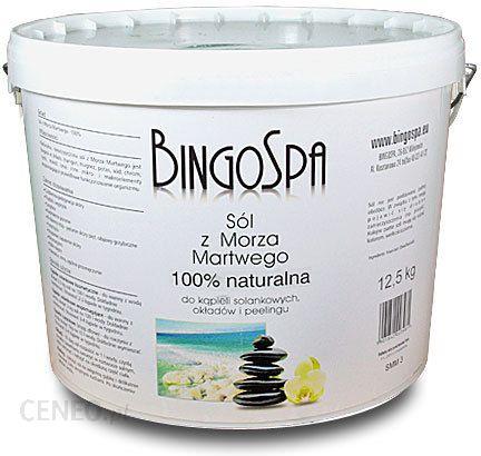 BingoSpa Naturalna sól z Morza Martwego z błotem z Morza Martwego 12,5 kg