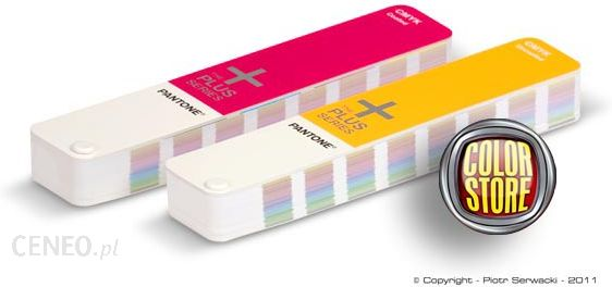 PANTONE Plus CMYK Color Guides coated/uncoated SET - zestaw wzorników kolorów