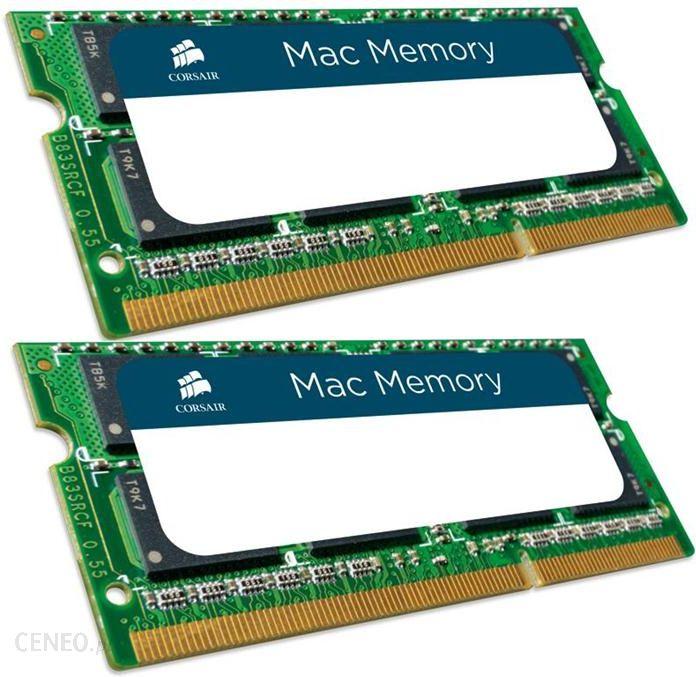 CORSAIR 2X8GB 1600MHZ DDR3 CL11 UNBUFFERED SODIMM APPLE QUALIFIED