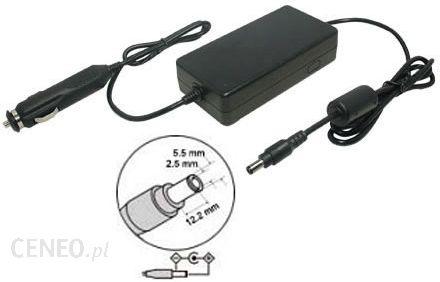 HI-POWER ZASILACZ SAMOCHODOWY DO NOTEBOOKA TOSHIBA SATELLITE M205-S3207