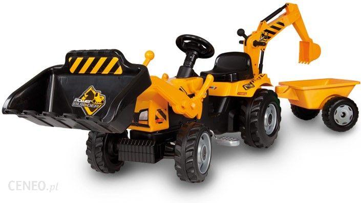 Smoby Traktor Builder Max + Przyczepa 33389