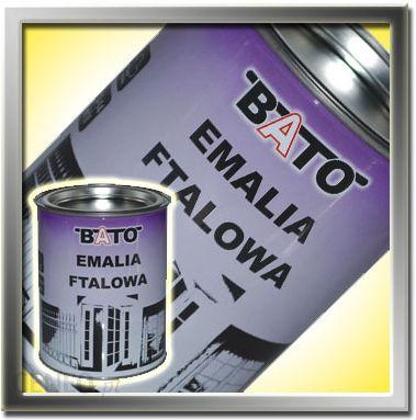 Bato Emalia Ftalowa Czarny Połysk A 0,8 L