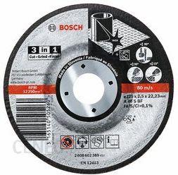 Tarcza 3w1 Bosch 115mm