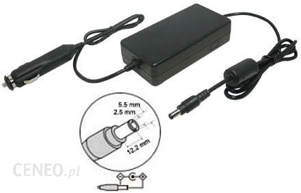 Ebaterie Zasilacz samochodowy do laptopa TOSHIBA Satellite C850-132