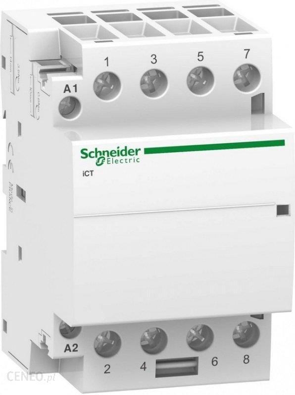 Schneider Ict-40a 4no 230vac 5 0hz -stycznik A9c20844