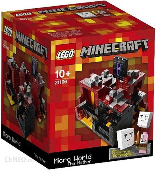 Lego Minecraft Micro World – The Nether 21106