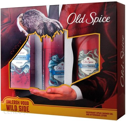 OLD SPICE ZESTAW Wild Paw