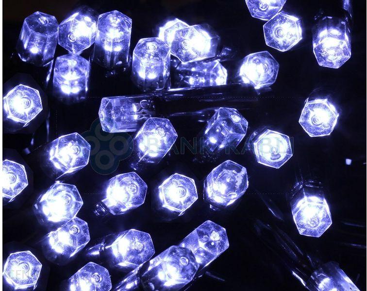 Bulinex Kurtyna LED zewnętrzna 100L sople biała 5m 38-652