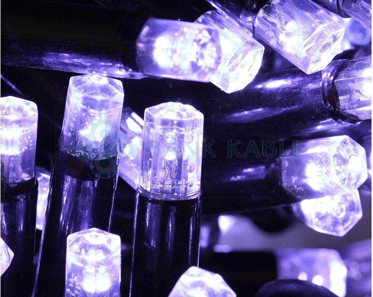Bulinex Kurtyna LED zewnętrzna 200L sople efekt FLESz biała 10m 38-692