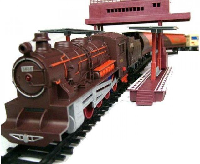 Fenfa Ogromna Elektryczna Kolejka 1601A + 7 Wagonów