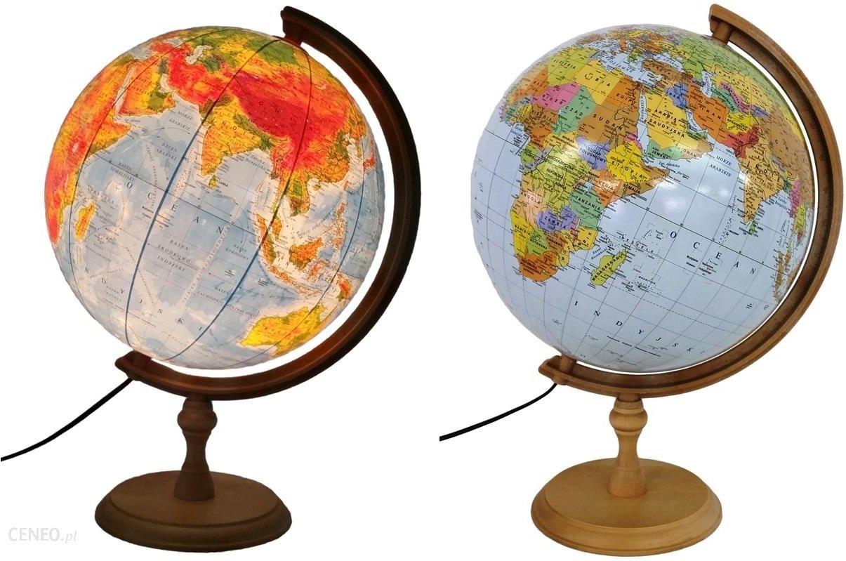Zachem Globus 320 polityczno-fizyczny podświetlany dekoracyjny