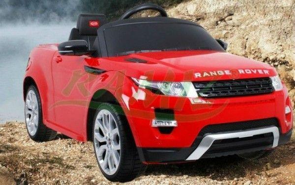 Auto Na Akumulator Range Rover Evoque 12V + 2 X Silniki 2 X 35W + Pilot 81400 Czerwony