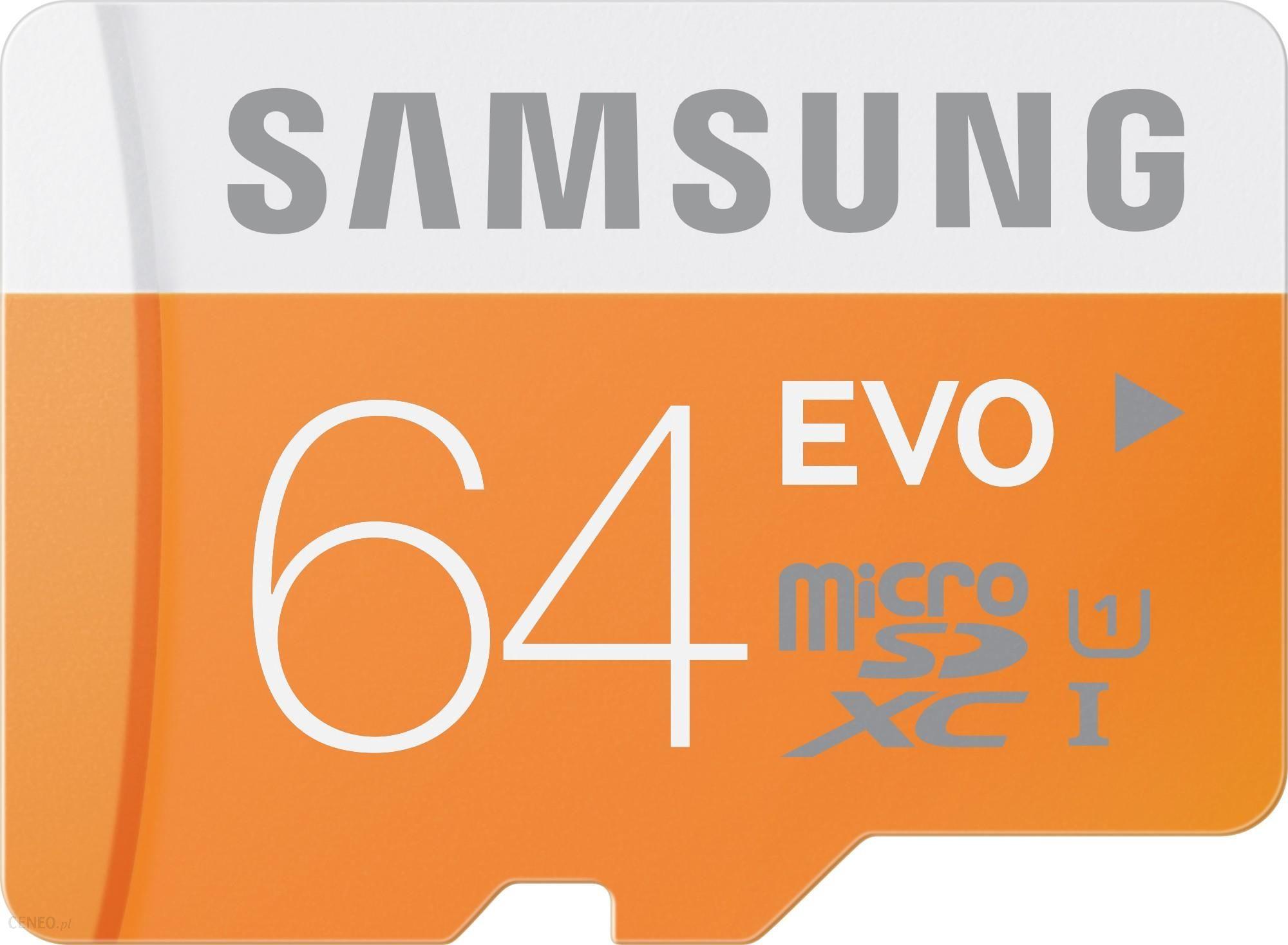 Samsung Evo microSDHC 64GB Class 10 UHS-I