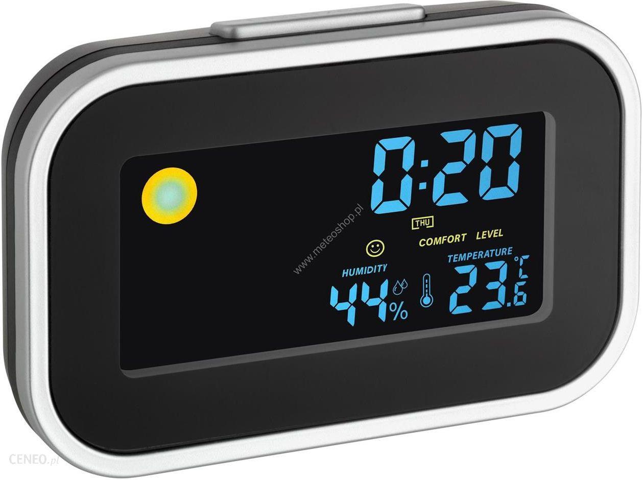 Tfa  budzik termometr / higrometr 60.2015