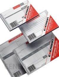 Emerson Rachunek dla konsumenta A6 wielokopia 80 kart. [RAK-1]