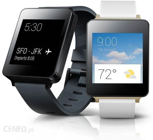 LG G Watch W100 Czarny