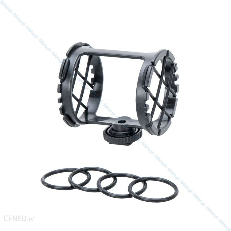 Boya Uniwersalny uchwyt elastyczny BY-C03 - koszyk do mikrofonów typu shotgun