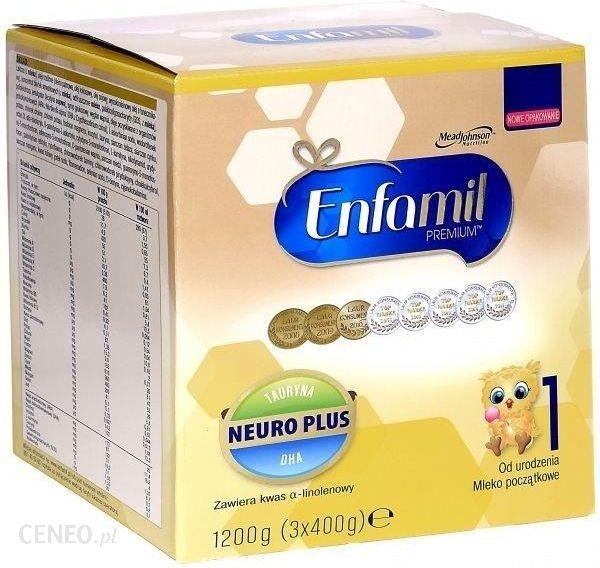 Enfamil 1 Premium Lipil 0-6 Mcy Mleko Modyfikowane 1200G