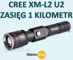 Bailong Wojskowa Led Cree Xm-L2 U2 Zoom 8500 Lumen