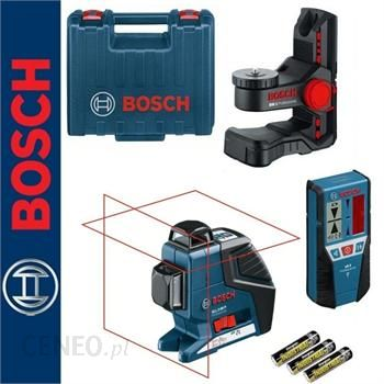 Bosch GLL 2-80 P + uchwyt BM 1 + Odbiornik LR 2
