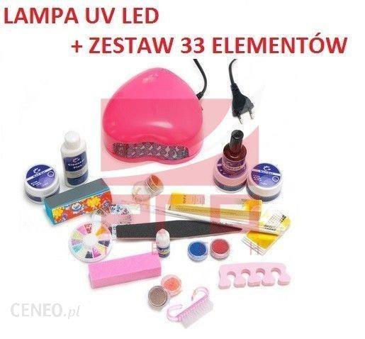 PRO-TECH Zestaw lampa UV + 33 akcesoria do manicure