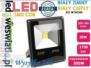 led-lux HALOGEN LAMPA NAŚWIETLACZ LED SMD 30W / 300W mini 1666-144BD
