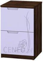 Baggi Design Lillarose Olive Komoda 2-szufladowa wąska