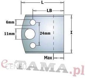 CMT Para noży l=40mm LB=32,5mm L=44,5mm Max=18mm Typ.690 690.193