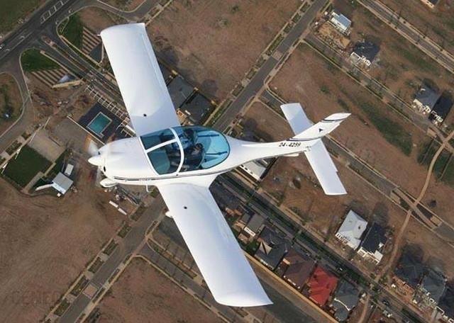 Lot widokowy samolotem dla dwojga