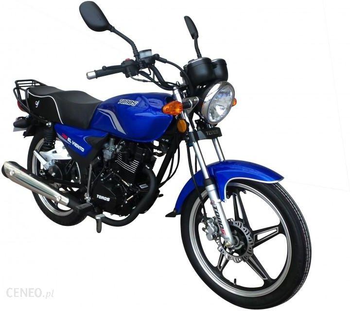 ZIPP TD50 Toros El Viento 125 Niebieski