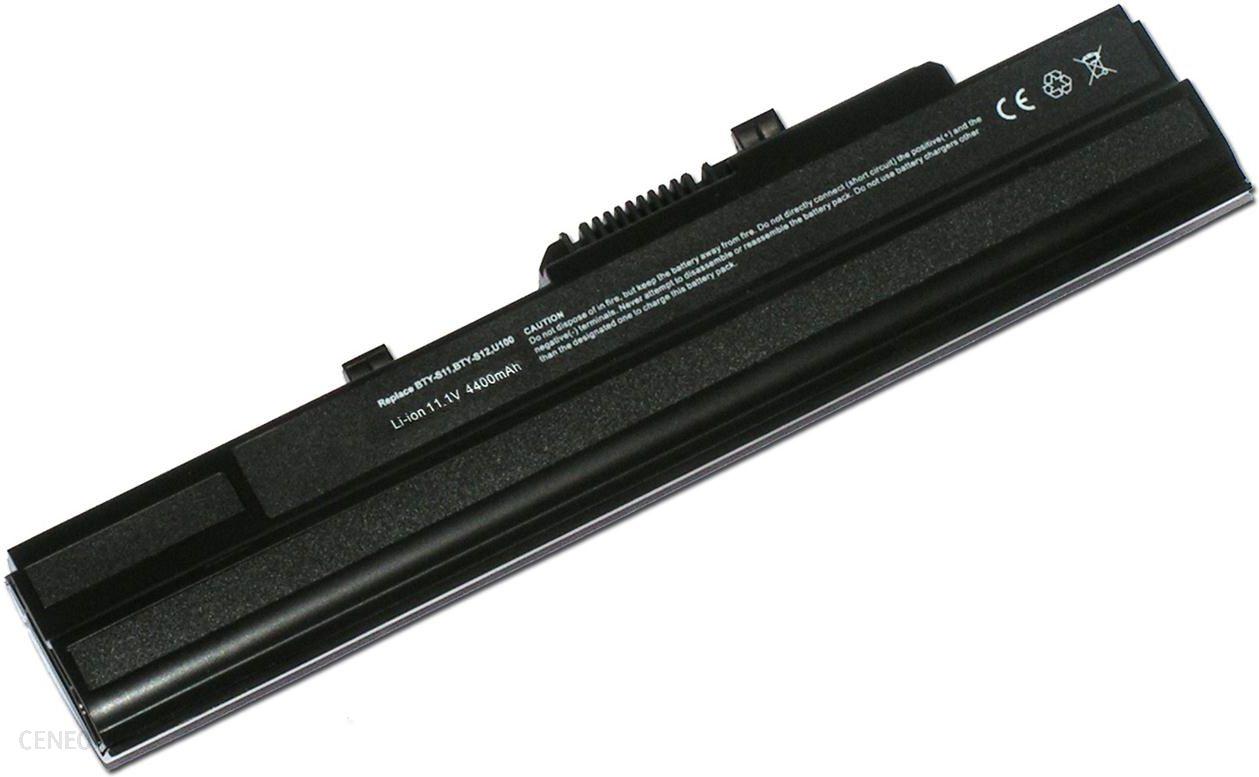 Digital Power do MSI Wind U200/U210/U230/U250 4400mAh Black