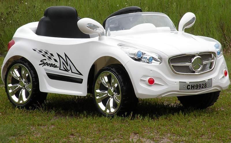Super-Toys Auto Na Akumulator Kabriolet Z Radiem Strong Ch-9928 Biały