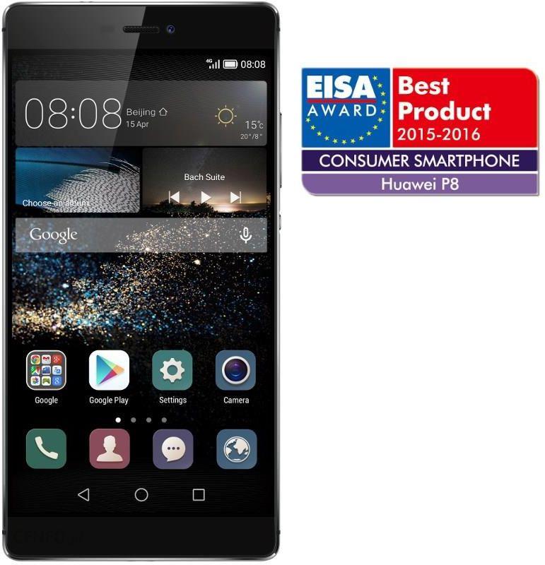 Huawei P8 szary/srebrny