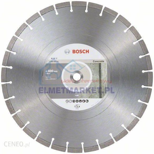 Bosch Diamentowa tarcza tnąca Expert for Concrete 400 x 20,00 x 3,2 x 12 mm 2608603761