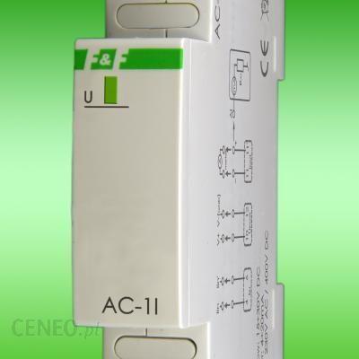 F&F analogowy przetwornik natężenia prądu jednofazowy Analogowy przetwornik natężenia prądu jednofazowy 15A AC-1I 15A