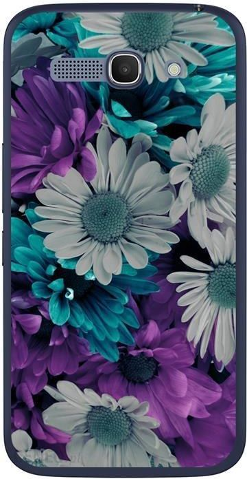 Funcase Hard Alcatel One Touch Pop C9 Flower Background