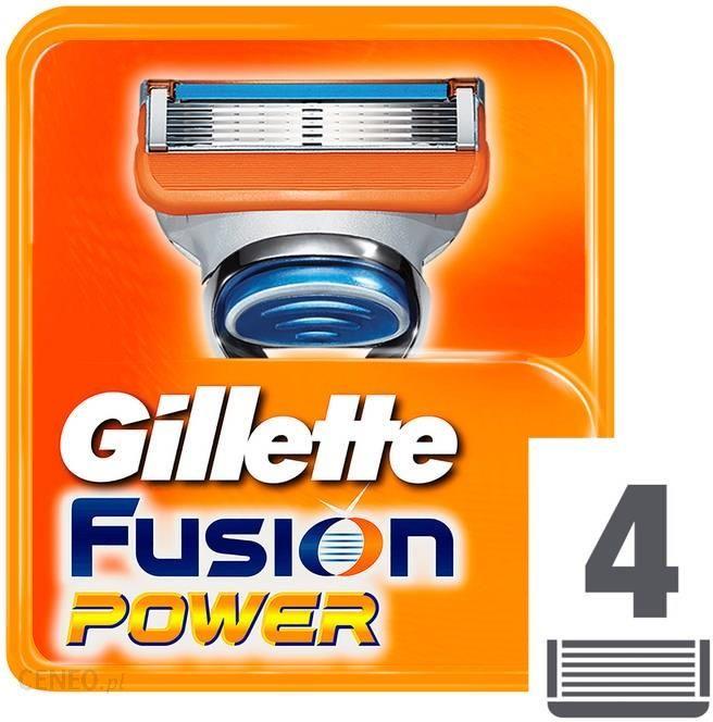 Gillette Fusion Power nożyki do golenia 4szt.