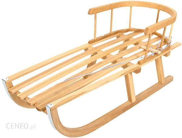 Sanki drewniane bukowe